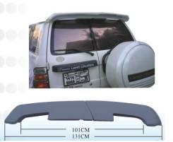 Спойлер. Toyota Land Cruiser, UZJ100W, HDJ101K, UZJ100, HZJ105, HDJ100L, HDJ100, UZJ100L, FZJ105, J100, HZJ105L, HZJ76L Двигатели: 2UZFE, 1HDFTE, 1HZZ...