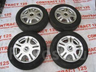 Продам летние шины 165/70R14 на литых дисках. x14 4x100.00, 4x114.30 ET42