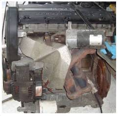 Двигатель 18K4F к Land Rover 1.8б, 120лс