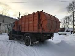 КамАЗ. Продаётся два мусоровоза на базе Камаз, 10 850куб. см.
