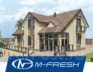 M-fresh Resonance Plus! -зеркальный (Дом с витражами, дом с мансардой! ). 200-300 кв. м., 1 этаж, 5 комнат, бетон