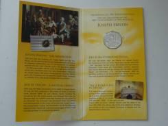 Австрия 5 евро 2009 г. Йозеф Гайден. Серебро, буклет.