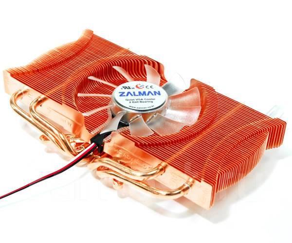 Охлаждение для видеокарты Zalman quiet vga cooler 2 ball-bearing