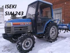 Iseki. Мини трактор Sial TF243F с кабиной сделано в Японии, 1 500 куб. см. Под заказ
