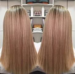 Лечение волос. Botox + Кератин волос Акция -25% по 15 января !