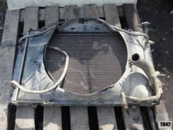 Радиатор охлаждения двигателя. Nissan Patrol, Y60 Nissan Safari Nissan Laurel Spirit Двигатель TD42