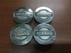 """Коппаки на диски Ниссан. 4 шт. Из Японии (К5). Диаметр 15"""", 1 шт."""