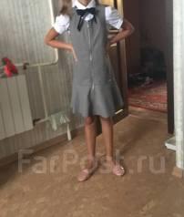 Сарафаны школьные. Рост: 134-140 см