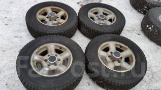 Колеса зима 245/70R16. 7.0x16 6x139.70 ET38 ЦО 100,0мм.