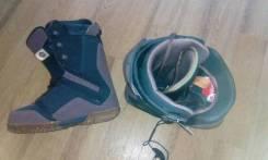 Продам ботинки для сноуборда. 42,00см., all-mountain (универсальный)