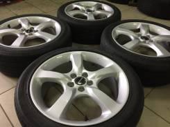 Комплект Легких Subaru Оригинал R17 на Bridgestone 13г 215/45 износ30%. 6.75x17 5x100.00 ET55 ЦО 73,0мм.