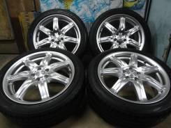 Продам Стильные Редкие колёса Bridgestone Sicurezza+Лето Жир 215/45R17. 7.0x17 5x100.00 ET53