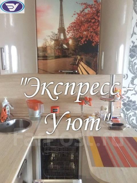2-комнатная, улица Русская 57р. Вторая речка, агентство, 42кв.м. Кухня