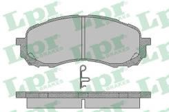 Колодки тормозные дисковые передн SUBARU IMPREZA седан 00 IMPREZA универсал 00 05P1454