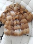 Шубы из лисы. 42