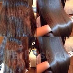Восстановление волос. Кератиновое выпрямление, ботокс, коллаген Акция!