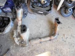 Приемная труба глушителя. Subaru Forester, SG5 Двигатель EJ205