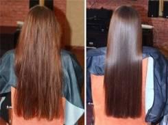 Кератиновое восстановление-выпрямление волос от 1500