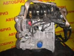 Двигатель в сборе. Nissan: Wingroad, Cube, Bluebird Sylphy, Tiida Latio, AD, March, Tiida, Cube Cubic, Latio, Note Двигатель HR15DE