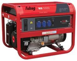 Электрогенератор Fubag ВS 5500 A ES. 5,5/5,0кВт, 230В/16А, бак-25л, электростартер, 78кг