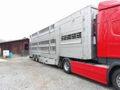 Pezzaioli. Полуприцеп скотовоз SBA32, 15 000 кг.
