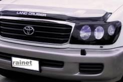 Дефлектор капота. Toyota Land Cruiser, FZJ100, HDJ100, J100, UZJ100, UZJ100W, HDJ100L, UZJ100L, VDJ200, UZJ200, J200, URJ202W, UZJ200W Двигатели: 1FZF...