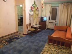 1-комнатная, улица Калинина 35, пока на месяц
