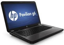 "HP Pavilion g6. 15.6"", 2,2ГГц, ОЗУ 8192 МБ и больше, диск 500 Гб, WiFi, Bluetooth, аккумулятор на 2 ч."