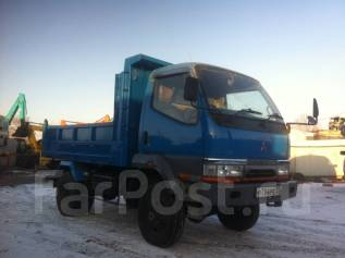 Mitsubishi Canter. Mitsubishi-Canter,4WD, мостовой самосвал, 4 600 куб. см., 3 000 кг.