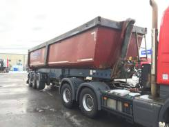Schmitz Cargobull. Самосвальный полуприцеп SKI 24 3AT 10.5 2013г. в., 45 500 кг.