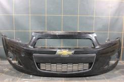 Бампер передний - Chevrolet Aveo T300