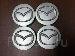 """Колпаки на литье Mazda. 4 шт. Из Японии (К49). Диаметр 15"""", 1 шт."""