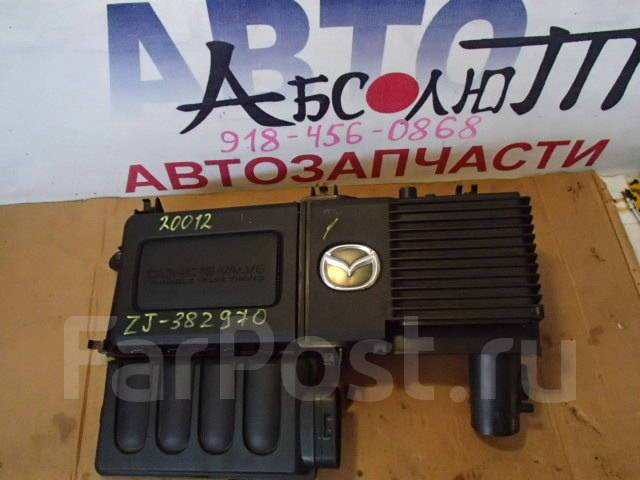 Корпус воздушного фильтра. Mazda Training Car, BK5P Mazda Demio, DY3R, DY3W, DY5R, DY5W Mazda Verisa, DC5R, DC5W Mazda Axela, BK3P, BK5P, BKEP Двигате...