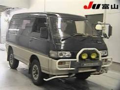 Зеркало заднего вида боковое. Mitsubishi Delica, P23W, P24W, P25W, P35W