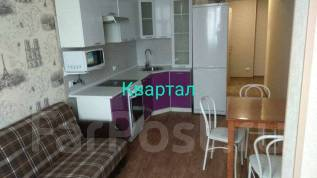 1-комнатная, улица Черняховского 3в. 64, 71 микрорайоны, агентство, 46 кв.м. Кухня