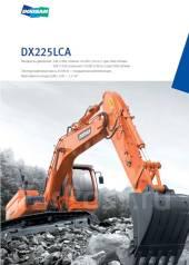 Doosan DX225 LCA. Продам экскаватор Doosan DX-225 LCA, 5 785 куб. см., 1,05куб. м.