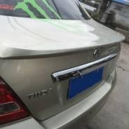 Спойлер. Nissan Tiida Latio