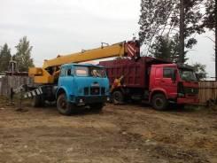 МАЗ Ивановец. Автокран Ивановец на базе МАЗ, 14 000 кг., 14 м.
