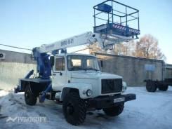 Випо-18. Автогидроподъемник ВИПО-18-01 на шасси ГАЗ-33088 (4х4) (5м. каб), 18,00м.