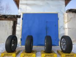 Bridgestone Dueler H/T 684II. Всесезонные, износ: 30%, 4 шт