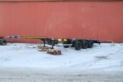 Чмзап. Полуприцеп контейнеровоз раздвижной - в наличии!, 32 000 кг.
