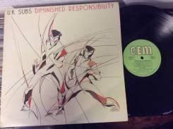 Ю КЕЙ САБС / UK SUBS - Diminished Responsibility - UK LP 1981