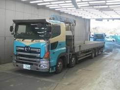 Hino Profia. Бортовой грузовик с манипулятором HINO Profia, 13 000 куб. см., 10 т и больше. Под заказ