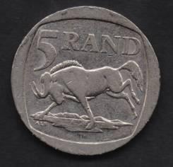 17.25 Белый Аукцион с 1 рубля Южная Африка 5 ранд