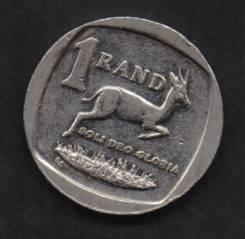17.27 Белый Аукцион с 1 рубля Южная Африка 1 ранд
