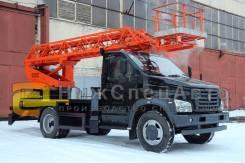 ГАЗ ГАЗон Next. Автовышка телескопическая 18 метров на шасси ГАЗ Next, 18 м.