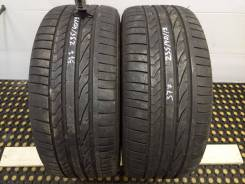 Bridgestone Potenza RE050A. Летние, 2007 год, износ: 10%, 2 шт