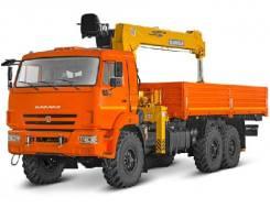 КамАЗ 43118 Сайгак. КМУ Камаз 43118-3027-46+Soosan SCS736LII верх. упр. +борт сталь 6.2м, 11 760 куб. см., 7 000 кг.