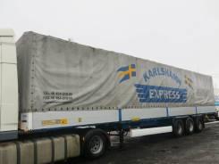 Krone SD. Полуприцеп тентованный борт-тент, 2007, 34 000 кг.