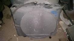 Радиатор охлаждения двигателя. Isuzu Bighorn, UBS69DW, UBS69GW Двигатель 4JG2